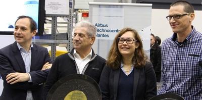 Le Training Centre d'Airbus fête son 1000ème stagiaire  à Technocampus Composites !