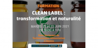 Formation - Clean Label : transformation et naturalité